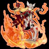 【勇猛なる軍神】リーファ 火 杖