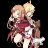 【英雄の軌跡】キリト【閃光の軌跡】アスナ