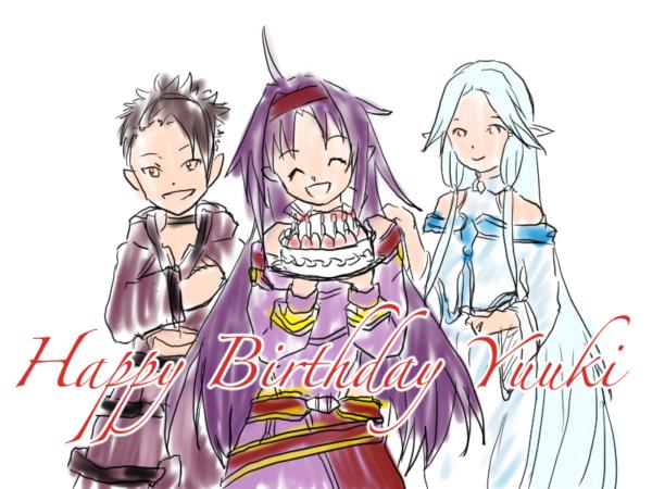ユウキ、お誕生日おめでとう☆